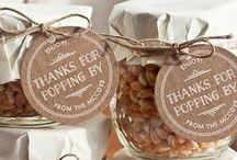 Wedding Favors / Favor ideas for your guests