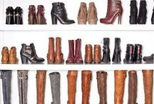 BOOTS & WOMEN'S FASHION IDEAS... / Beautiful boots, all sorts of colors, heights, from booties to high thigh boots, and every thing in between, fabulous amazing boots, no closet should be without about 10 pairs of various boots!!! / by Cheryl/Cher/Anne Miller/Van Dorn