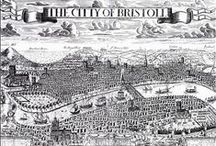 Old maps and prints / Old maps of Bristol showing St Mary Redcliffe's changing relationship with its immediate surroundings and the wider city