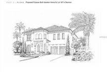 Golden Investment Opportunity: Custom Reunion Vacation Home — at Reunion Resort. / Listed at $161,500, this 7,405 sq ft lot is located within the gated Reunion Resort in the Community of Homestead. Originally purchased with the intention of building a vacation home with a custom builder to be managed by All Star Vacation Homes.