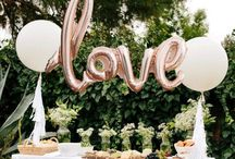 Celebrations   / Engagement party, bridal shower + hens night ideas, wedding.