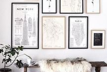 Wall Space / Fill your walls with lovely pieces including mirrors, artwork, prints, decals & more.