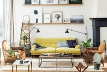 The Living Room / Inspiration for the most important room in your home. / by Dot & Bo