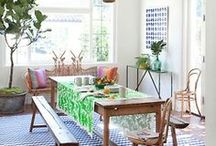 Fine Dining / Dining room inspiration, kitchen essentials, and yummy treats.