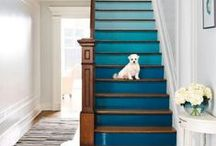 Stair Designs / Scale it up with colors, designs, and structure.