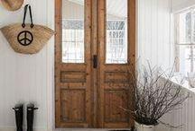 Welcoming Entryways / Home passageways.