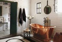 The Bathroom / Inspiration to make the bathroom a stylish place.
