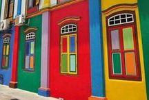 Paysages urbains et villageois