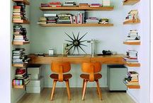 STUDY & WORK SPACES / Create a space for You to be creative in!