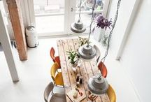 DINING / Create an area for enjoying food and dining in your home.
