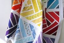 Quilt - Modern / Bright modern quilts / by Candy Walker