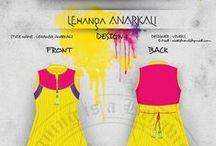 Womens Garment Design / https://www.behance.net/gallery/28206721/Womens-Traditional-Wear