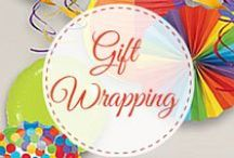Gift wrapping / We so much adore beautiful gift packaging , it's art to master. Our personalized birthday return gifts find an extension into the gift wrapping industry , who knows , we might embark on it sometime !!