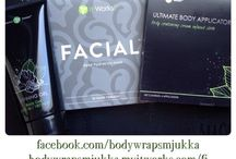 Body wrap / It Works Body Wrap aka Ultimate Body Applicator eli Wräppäys, wräppi
