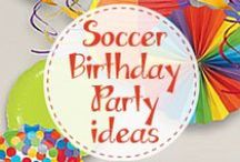 Boy's Soccer Themed Birthday Party /  Kick off your child's birthday with a soccer party