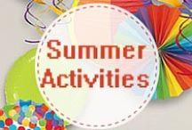 Summer Activities for kids ( 5-13 yrs)
