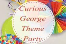 Curious George- Themed Party for Kids / Curious George Birthday Party Ideas from LittleCharms.net