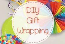 Cute DIY kids Gift Wrapping Ideas / Are you on the looking for cute present wrapping ideas that your kids will love? The best gift and gift wrapping ideas are all here