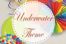Hosting an Underwater Theme Party / 2 to 10-year-olds will dive right into this underwater theme. Lure them to the surface with our great ideas!