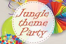 Hosting a Jungle Theme Party / 2 to 10-year-olds will fun with this wonderful adventure of Jungle Safari. Lure them to the surface with our great ideas!