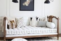 PALE AND INTERESTING / All white rooms, or spaces with pale furniture and furnishings can be tricky to achieve, but look amazing when done well. Lots of texture and a variety of materials are needed to add interest, warmth and character.
