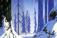 The banner saga and Eyvind Earle