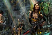 Shadowrun: characters