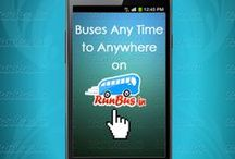 Online Bus Ticket Booking / RunBus offers fastest online bus ticket booking service all over India. RunBus offers an extensive variety of facilities; exact from selecting your pick up spot to your preferred preference of seat (for example, luxury buses with sleeper). / by runBus