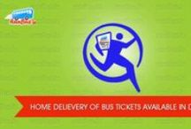Bus Tickets Reservation / Book your bus tickets for all type of buses such as Volvo, AC, Sleeper etc for any route in India with one of largest bus tickets reservation portal. / by runBus