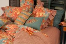 Fall 2013 Home Linens / Cozy up in color with a bedroom you never want to leave!