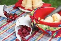 Spring 2014 Kitchen Linens / Bring the beauty and color of April Cornell into your home.