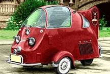 Strange, Weird & Wacky Transportation / Some people can reconstruct cars into something really weird. Enjoy!!!