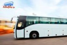 Buses / We offer different types of buses such as Volvo, Sleeper, A/C, Non A/c and more for safe and reliable journey.