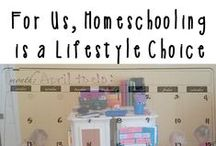 The Home School Zone / The adventures of homeschooling from first getting started / by Beyond Mommying