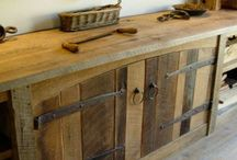 Pallets & Barnwood in the Kitchen / Ideas to improve the rustic look in your kitchen
