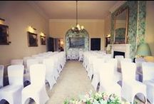 The Drawing Room / Seating up to 55 guests, this gorgeous light filled room is perfect for an intimate ceremony all year round...