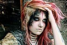 Alternative Girls, Post-Apocalyptic, Epic Hairs and Steampunk / Alternative Girls, Post-Apocalyptic, Epic Hairs and Steampunk