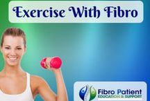 Exercise with Fibromyalgia / Exercise is one of the most effective treatments for fibromyalgia -it benefits all of the symptoms of fibromyalgia, including pain, fatigue, and sleep problems. Moving your body may be the last thing you feel like doing, but you have to believe that it really does help. It's hard at first, but it does get easier.