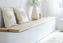 Woon ideën. / Leuke ideën over het inrichten en decoreren van je huis. Vooral als je niet veel ruimte hebt.
