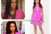 "Best of ""Real Housewives of Atlanta"" Fashion / Find out where #RHOA stars shop and who designs their clothes at http://realitytvfashion.com / by Reality TV Fashion"