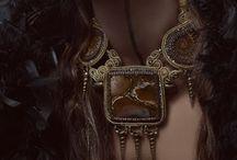 Yulia Dorofeeva & Okatava / Photographer Yulia Dorofeeva and fashion jewelry by Yulia Logvinova.