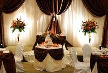 Chocolate Brown Wedding  / Why not to try chocolate brown theme for the wedding?