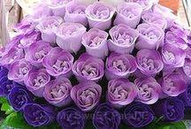Purple wedding / Fialková svatba / Purple wedding inspiration.