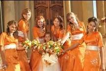 Orange wedding / Pomerančová svatba / Themed wedding: orange
