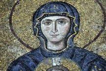 byzantine mosaics art