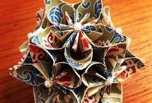 Origami & paper / Origamiobjekt som jag tycker är fina.