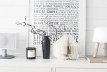 Stuff related to the home  / Inspirerande för hemmet