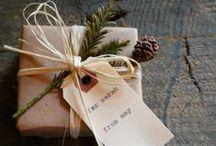 Wrapping  / idéer kring inslagning av presenter