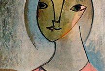 Kunstenaar: Pablo Picasso. / by Gaby Wuyts