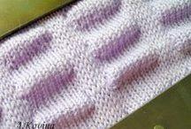 машинное вязание Узоры / узоры машинного вязания